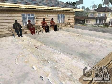 La nueva calle Grove para GTA San Andreas