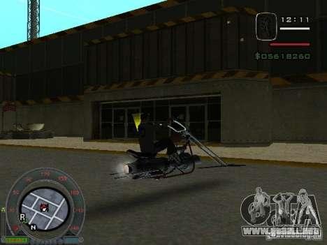 Moteros moto desde la ciudad de Alien para la visión correcta GTA San Andreas