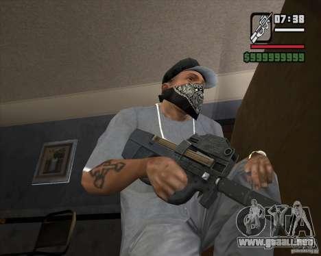P90 de GTA IV The Ballad of Gay Tony para GTA San Andreas