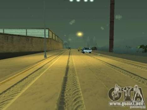 Nieve v 2.0 para GTA San Andreas novena de pantalla