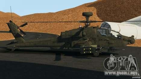 Boeing AH-64 Longbow Apache v1.1 para GTA 4 left