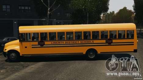 School Bus v1.5 para GTA 4 left