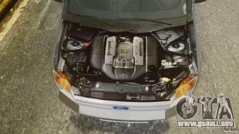 Ford Connect 2007 para GTA 4 vista hacia atrás