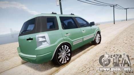 Ford EcoSport para GTA motor 4