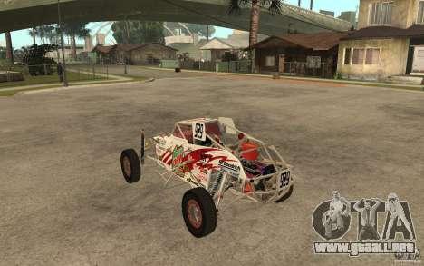 CORR Super Buggy 1 (Schwalbe) para GTA San Andreas vista posterior izquierda