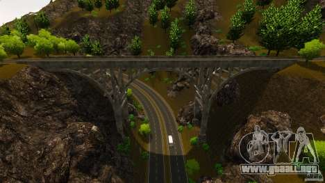 Countryside Mountains V para GTA 4 adelante de pantalla