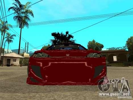 Honda CRX ED9 para la visión correcta GTA San Andreas