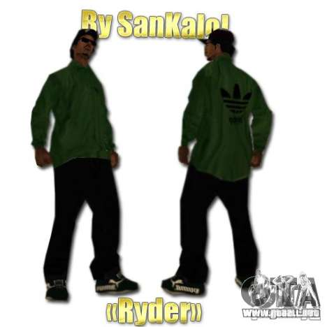New Sweet, Smoke and Ryder v1.0 para GTA San Andreas sucesivamente de pantalla