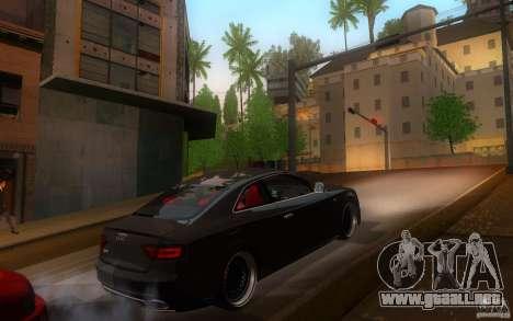 Audi S5 Black Edition para la visión correcta GTA San Andreas