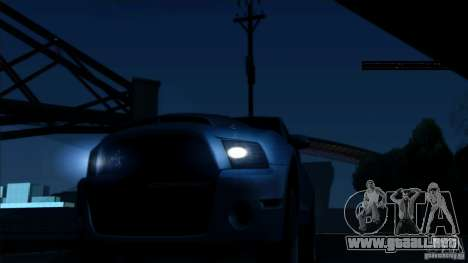 RAGE ENB para GTA San Andreas segunda pantalla