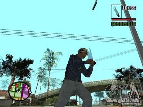 G: para GTA San Andreas tercera pantalla