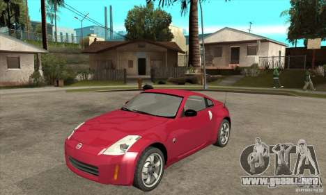 Nissan 350Z para GTA San Andreas left