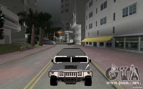 HUMMER H1 limousine para GTA Vice City visión correcta