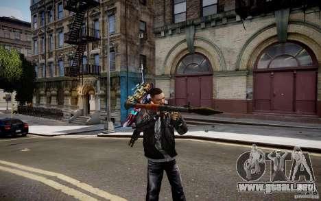 RPG-7 de MW3 para GTA 4 segundos de pantalla