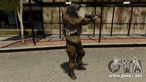 Phoenix Paratroopers para GTA 4 adelante de pantalla