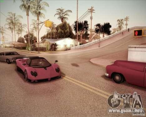 Pagani Zonda F V1.0 para la visión correcta GTA San Andreas