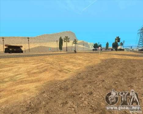 Desert HQ para GTA San Andreas octavo de pantalla