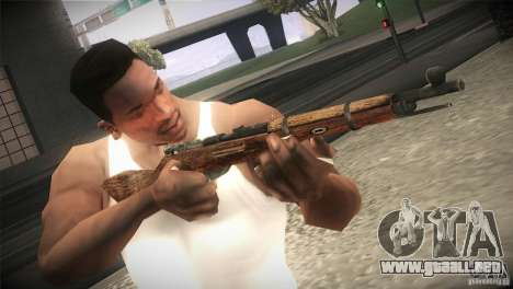Weapon Pack by GVC Team para GTA San Andreas séptima pantalla