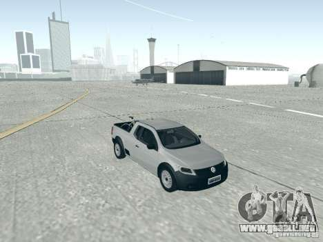 Volkswagen Saveiro 1.6 2009 para GTA San Andreas