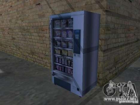 Nuevas texturas para máquinas para GTA San Andreas tercera pantalla