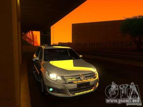 ENBSeries by Fallen para GTA San Andreas sucesivamente de pantalla