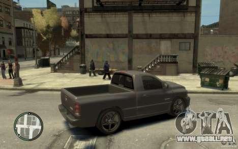 Dodge Ram SRT10 para GTA 4 visión correcta