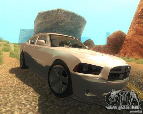Dodge Charger 2011 para vista lateral GTA San Andreas