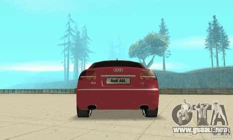 Audi A8L 4.2 FSI para el motor de GTA San Andreas