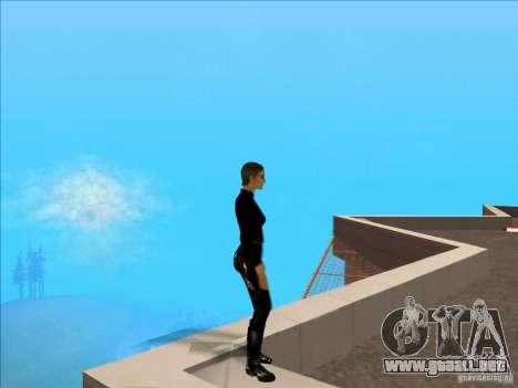 Matrix Skin Pack para GTA San Andreas sucesivamente de pantalla