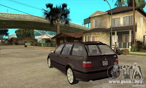 BMW 318i Touring para la visión correcta GTA San Andreas