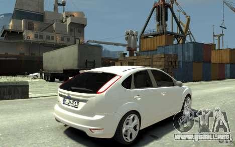 Ford Focus 2009 para GTA 4 visión correcta