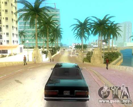 Vice City Real palms v1.1 Corrected para GTA Vice City segunda pantalla