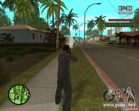 GTA IV Target v.1.0 para GTA San Andreas sucesivamente de pantalla