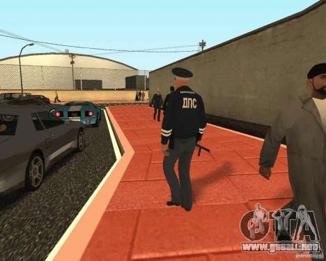 Mayor DPS para GTA San Andreas tercera pantalla