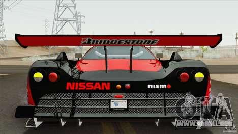Nissan R390 GT1 1998 v1.0.1 para GTA San Andreas left