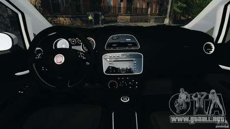 Fiat Punto Evo Sport 2012 v1.0 [RIV] para GTA 4 vista hacia atrás
