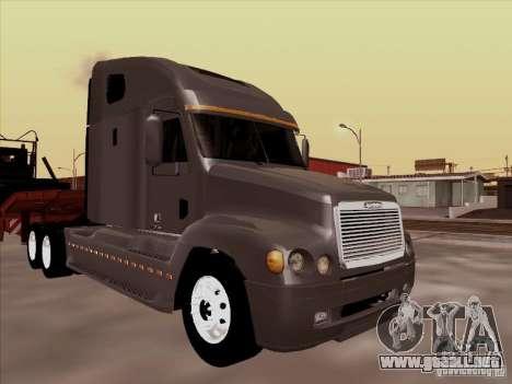 Freightliner Century ST para GTA San Andreas left