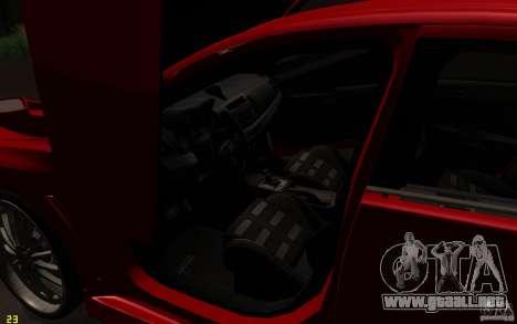 Mitsubishi Lancer EVO X drift Tune para vista lateral GTA San Andreas