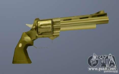 Gold Python para GTA Vice City sucesivamente de pantalla