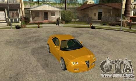 Alfa Romeo GTV para GTA San Andreas vista hacia atrás