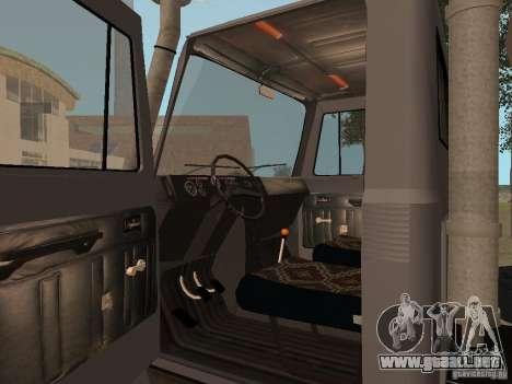 GAZ 3309 para la visión correcta GTA San Andreas