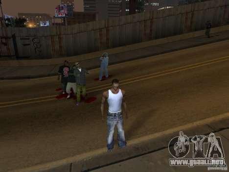 The Walking Dead para GTA San Andreas tercera pantalla