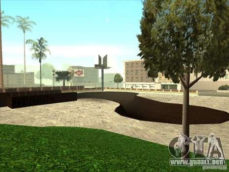 Mapa de Parkour y bmx para GTA San Andreas novena de pantalla