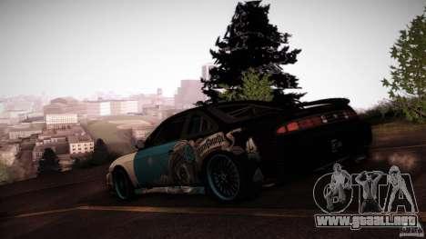 Nissan Silvia S14 NoNgrata para visión interna GTA San Andreas