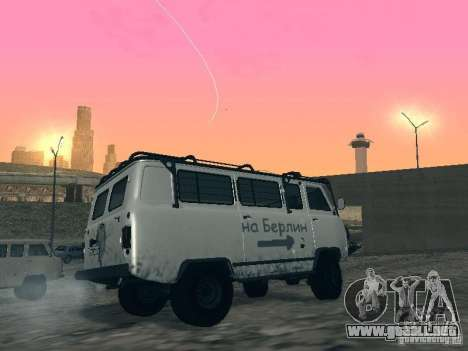 2206 UAZ para la vista superior GTA San Andreas