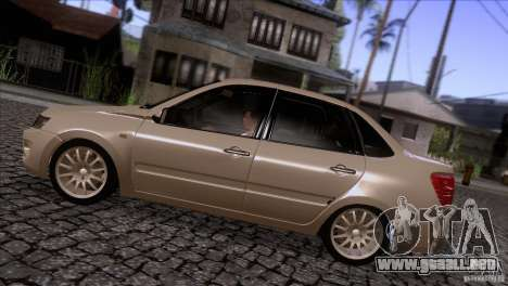 VAZ 2190 Granta para GTA San Andreas left