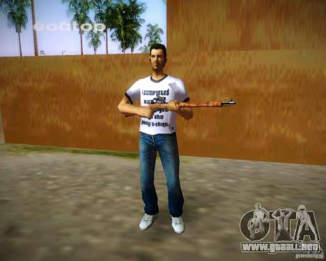 Mosin-Nagant para GTA Vice City sexta pantalla