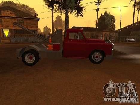 Dodge Towtruck para GTA San Andreas left