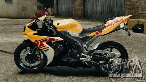 Yamaha YZF-R1 2012 para GTA 4 left