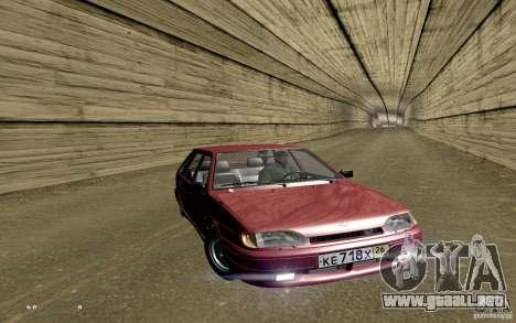 ВАЗ 2114 calidad para GTA San Andreas interior